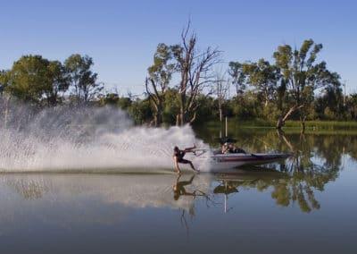 Murray River Skiing