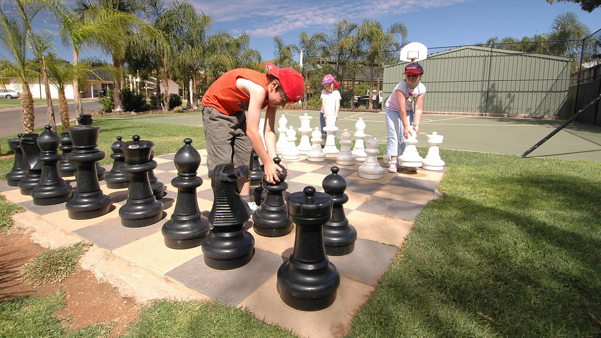 Facilities for kids to play on | Sunraysia Resort