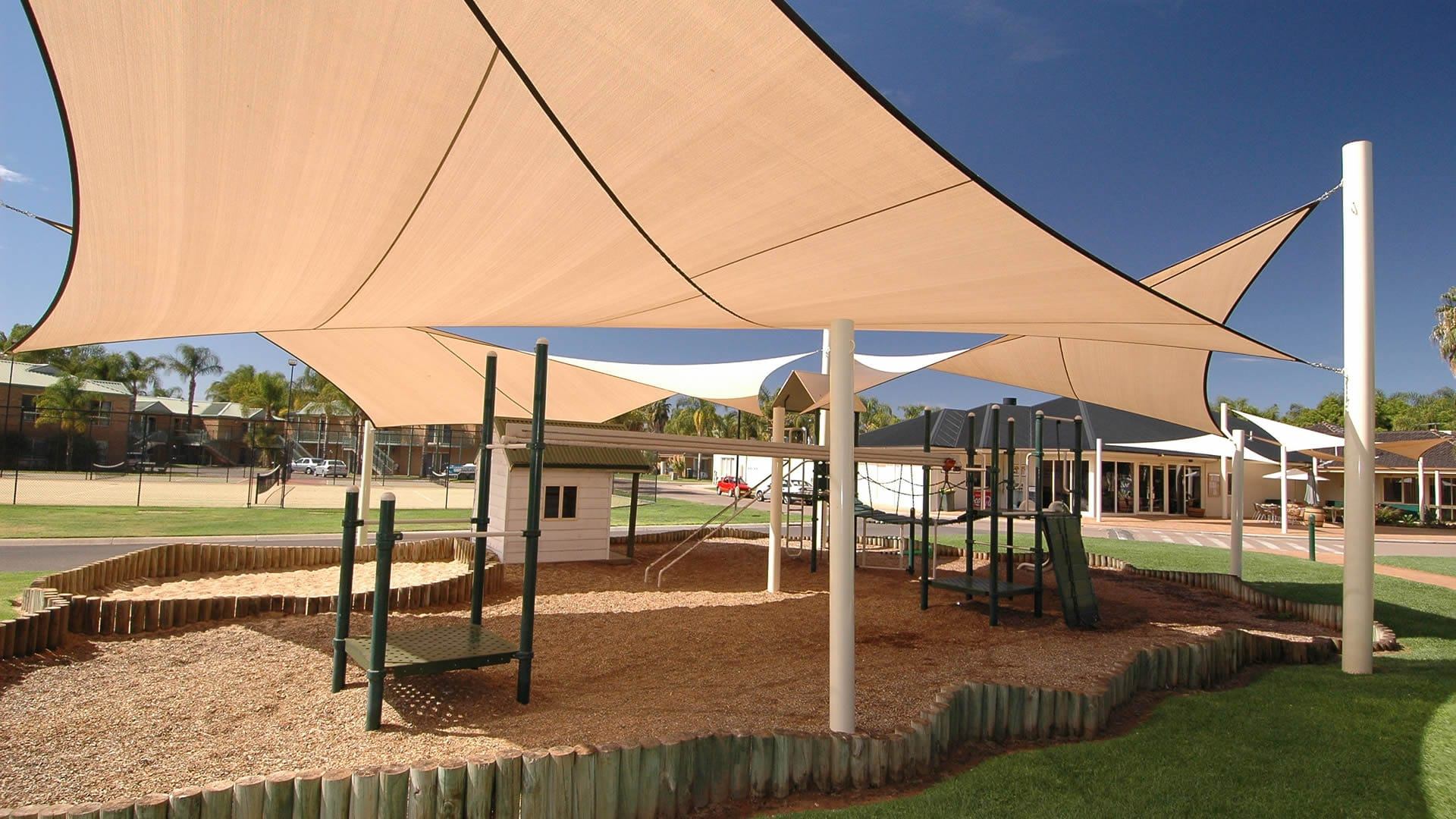 Playground facilities for the kids | Sunraysia Resort